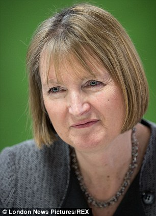Harriet Harman pictured on January 27 in Wythenshawe